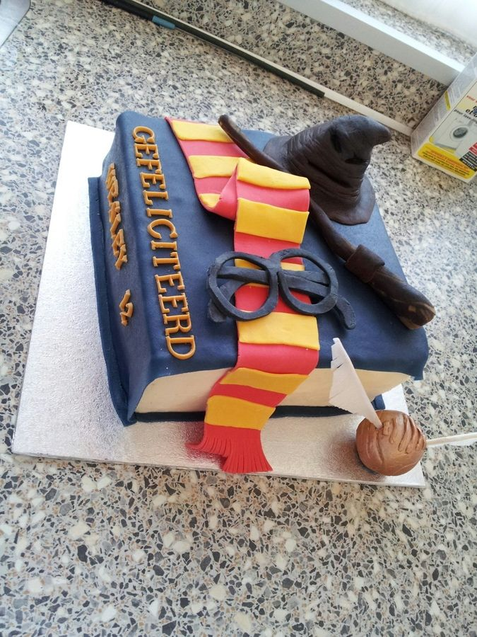 Harry Potter Cake — Children's Birthday Cakes--Children? Are you kidding me? I want one of these!!!