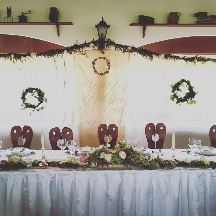 rusztikus esküvő, esküvő dekoráció, borostyán, burlap wedding, rustic wedding