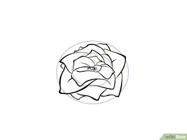 15 Gambar Bunga Sakura Kartun Hitam Putih 9 Cara Untuk Menggambar Bunga Wikihow 76 Gambar Bunga Sakura Kartun Cara Menggambar Menggambar Bunga Gambar Bunga