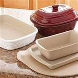 Pampered Chef stoneware...any shape or size...great product!