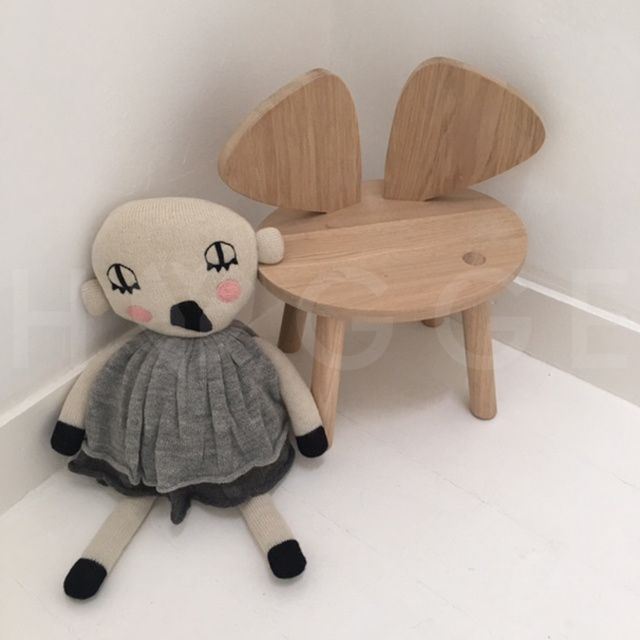 DOLL + CHAIR NOFRED LUCKYBOYSUNDAY