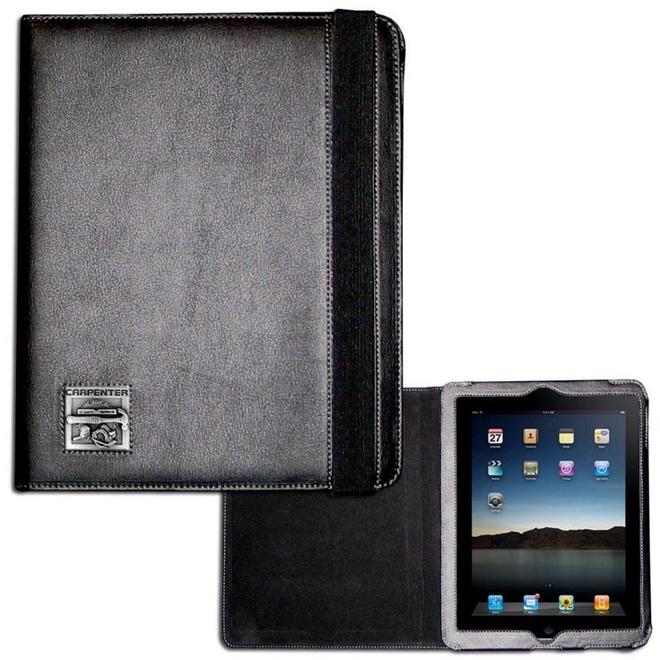 """Checkout our #LicensedGear products FREE SHIPPING + 10% OFF Coupon Code """"Official"""" Carpenter iPad 2 Case - Officially licensed Siskiyou Originals product Fits the iPad 2 or 3 tablet Complete access to the tablet while in the case  Stretch strap secures the case while closed Metal  emblem with enameled team colors - Price: $25.00. Buy now at https://officiallylicensedgear.com/carpenter-ipad-2-case-sipc3b"""