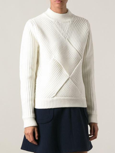 Carven Structured Knit Sweater - Twentyone St. Johns Wood - Farfetch.com