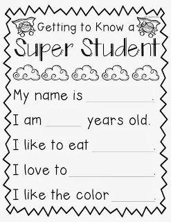 Mrs. Kelly's Klass: SUPER Student! {FREEEEEEBIE!}