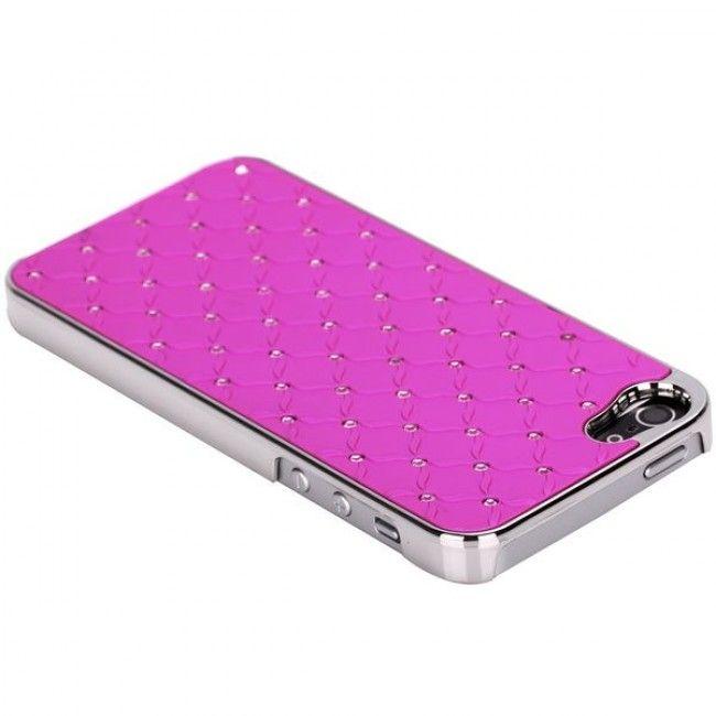 Victoria Bling (Pinkki) iPhone 5 Suojakuori - http://lux-case.fi/victoria-bling-pinkki-iphone-5-suojakuori.html