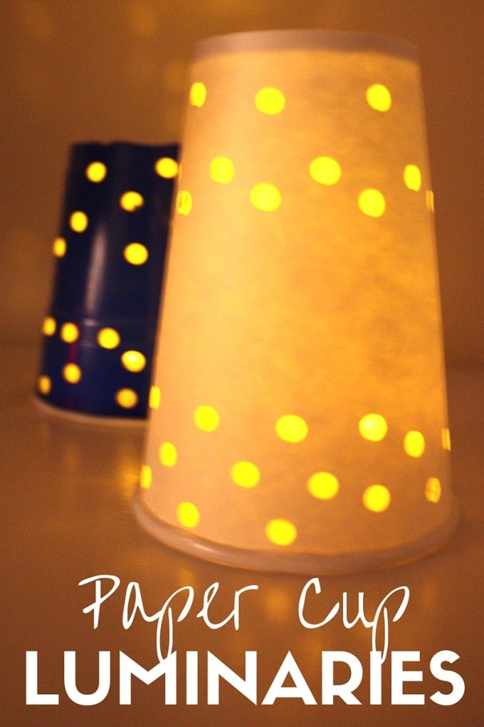 winter solstice craft ideas paper cup luminaries for winter solstice activities 5741