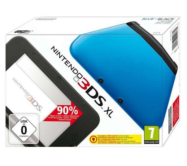 NINTENDO Console Nintendo 3DS XL - Bleu et noir, prix promo Carrefour.fr 198,02 € TTC