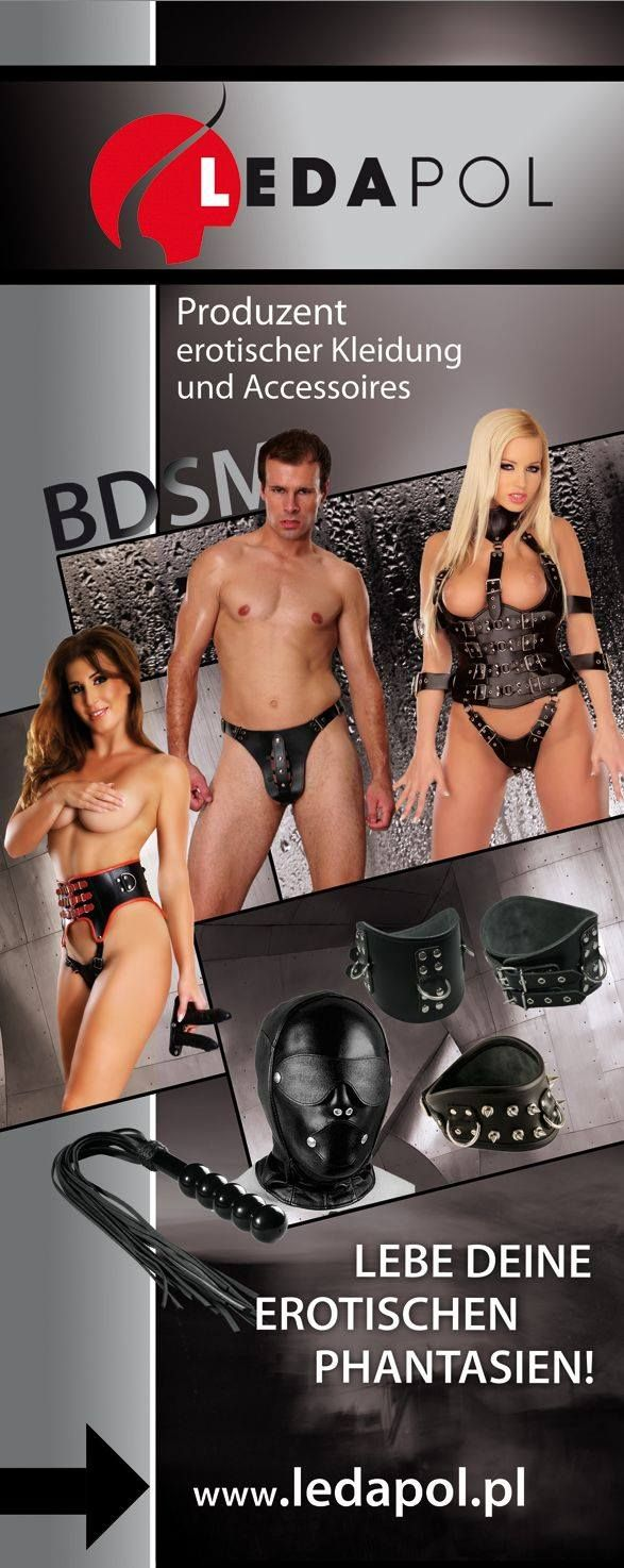 Ledapol BDSM clothing and accessories.
