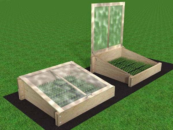 Easy Store Cold Frame Plans   Wish you had a cold frame for starting seeds or extending your growing season but you don't ha...