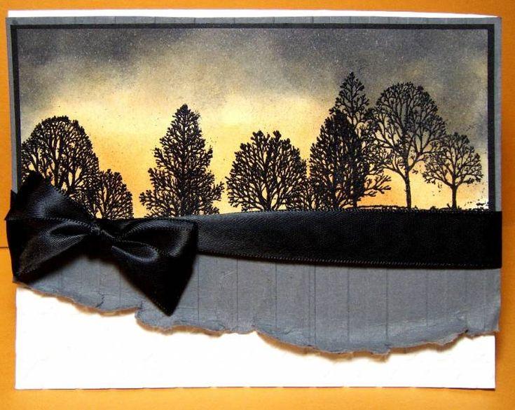 Sunset Inspired Masculine Card
