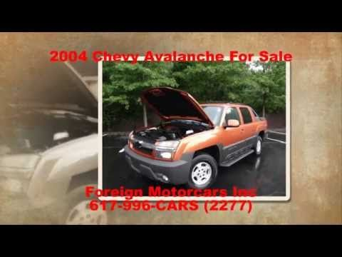 2004 Chevy Avalanche, For Sale, Super clean, Foreign Motorcars Inc, Quin...