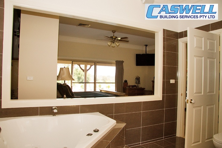 Ensuite looking out to master bedroom