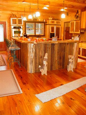 Hickory Kitchen Cabinets Hickory Kitchen And Red Cedar On