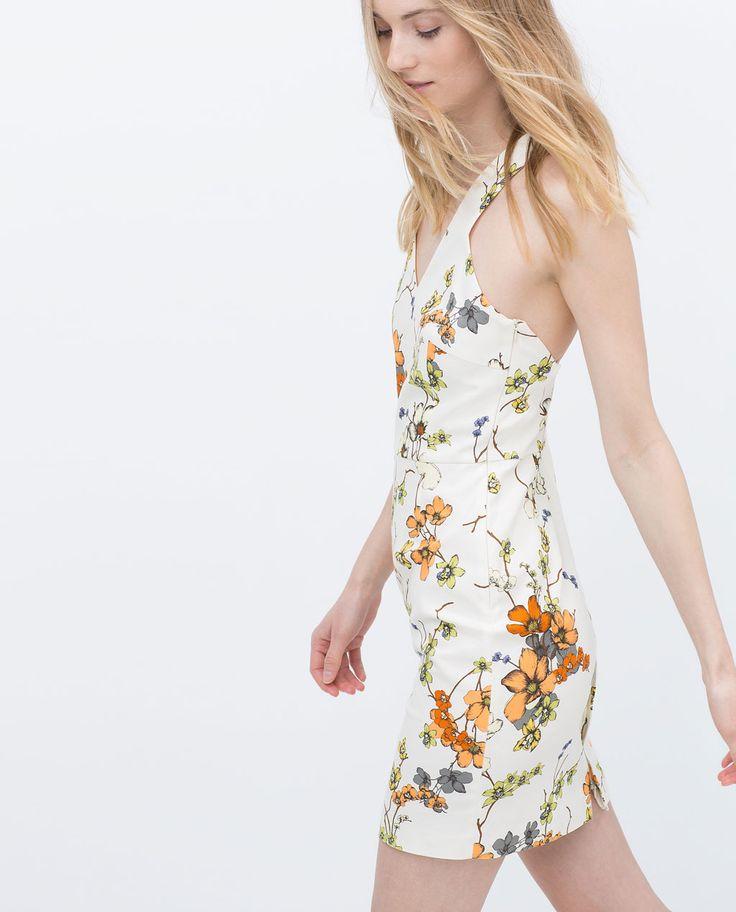 PRINTED DRESS-View all-Dresses-WOMAN | ZARA Ireland