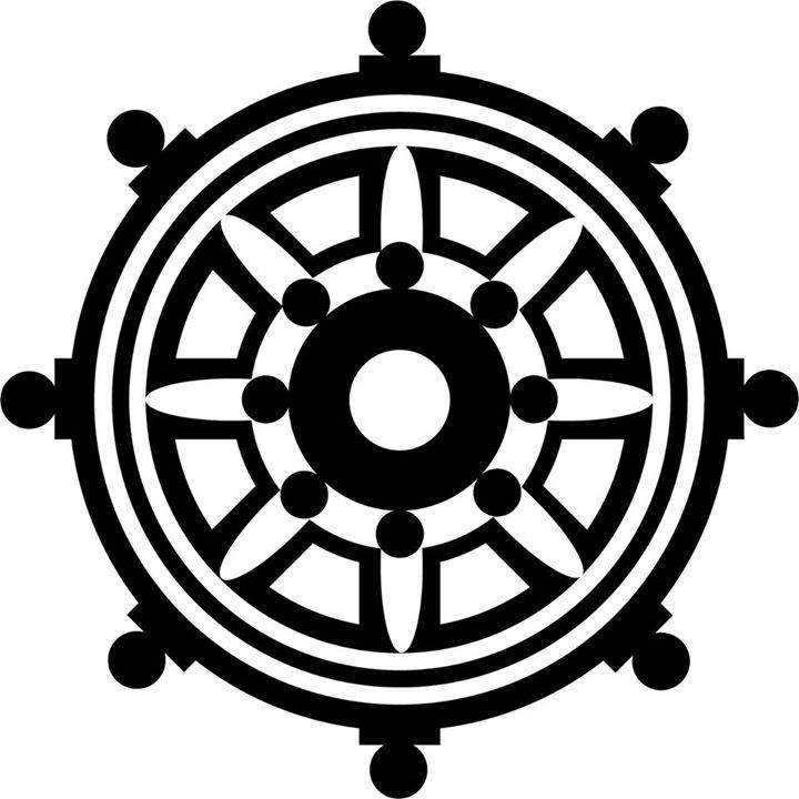 Zen Buddhist Symbols And Meanings: 17 Best Dharma Wheel Tattoo Images On Pinterest