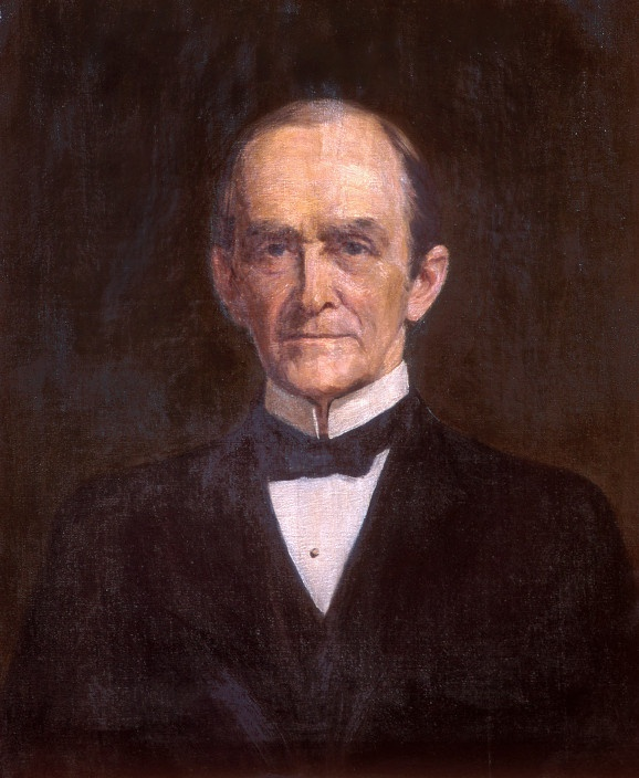 President Isaac Crook portrait painting. Crook served as Ohio University's 9th president, from 1896 to 1898.