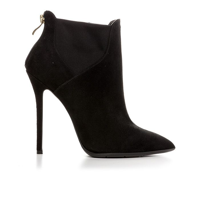 120407_BLACK SUEDE www.mourtzi.com #booties #mourtzi #glam #designershoes