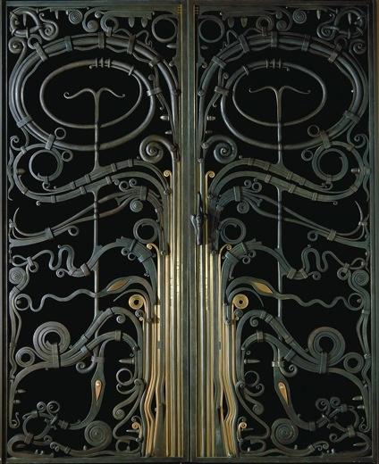 Portal Gates by Albert Paley 1974