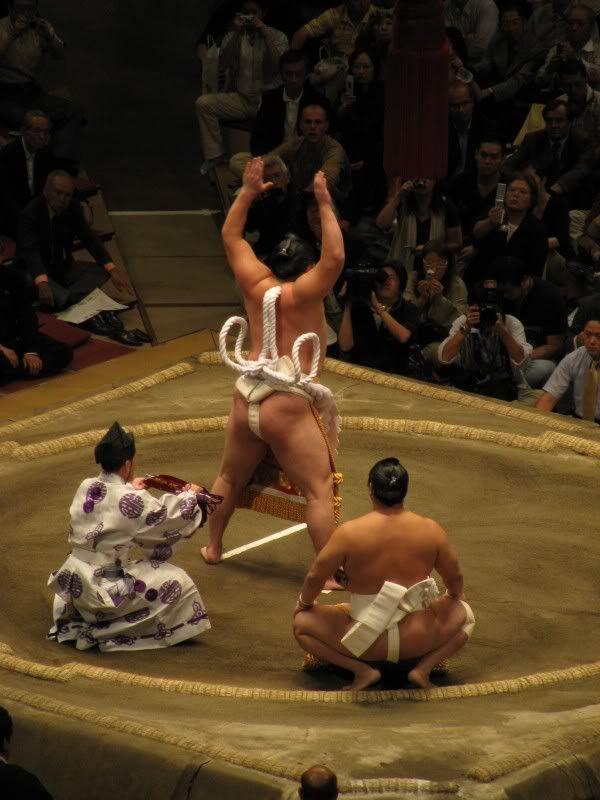 sumo wrestler butt slip