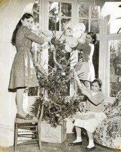 Voyczik's Xmas Tree, Ockenden, 1959<br/>(SHC ref 7155/14/7)