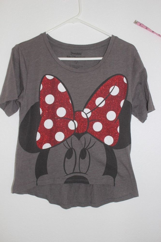 2065ed3a34ead Vintage Minnie Mouse T-shirt Disney Store Walt Disney Size M  WaltDisney   GraphicTee