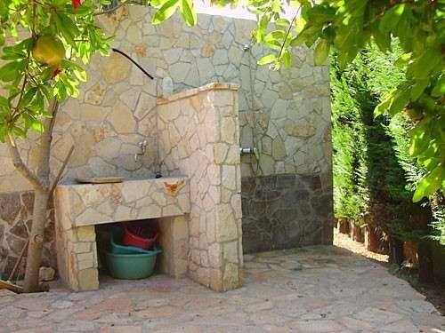 Lavandini in pietra da giardino - Lavello da esterni in pietra