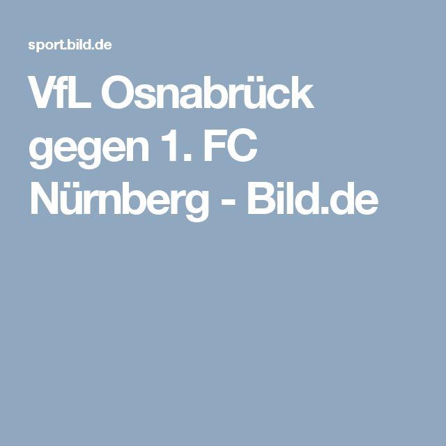 VfL Osnabrück gegen 1. FC Nürnberg     -  Bild.de