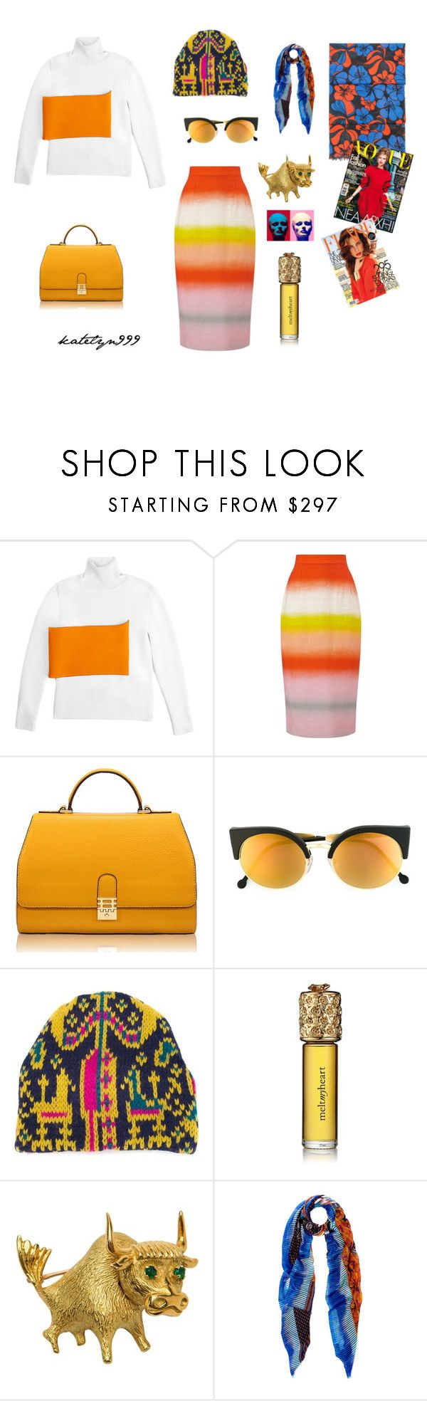 """""""Exotic feeling..."""" by katelyn999 ❤ liked on Polyvore featuring J.W. Anderson, Jonathan Saunders, Florian London, RetroSuperFuture, Tak.Ori, Etro and Marni"""