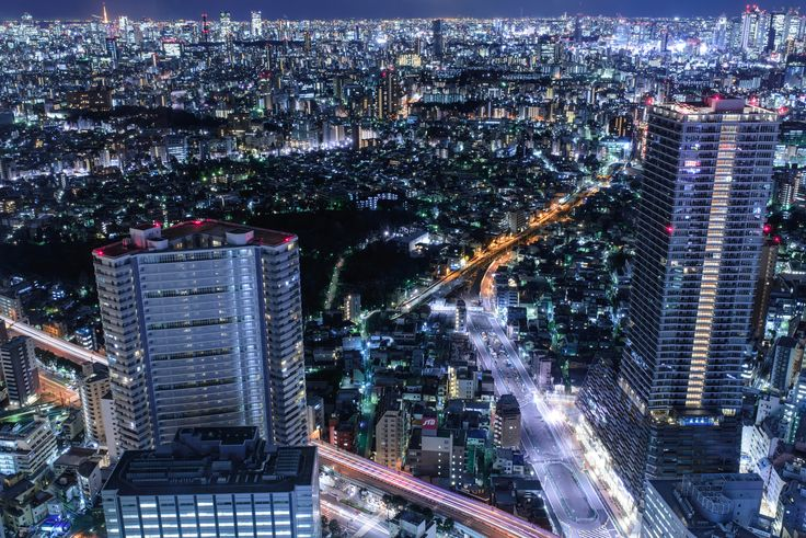 Tokyo night view by Nori O on 500px