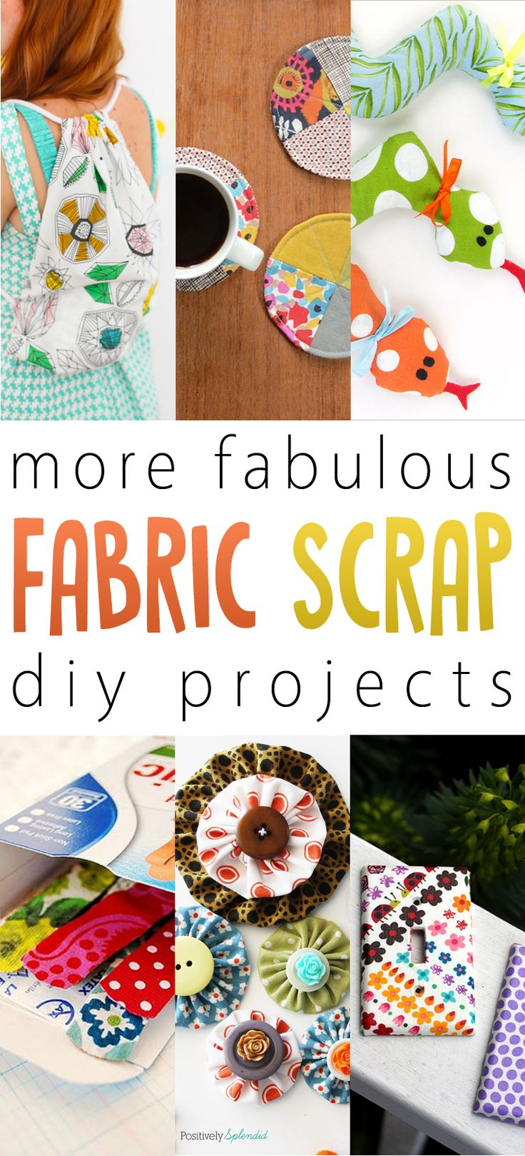 More Fabulous Fabric Scrap DIY Projects