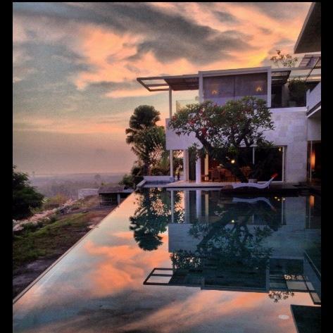 November sunrise in Bali. www.tigadisvilla.com