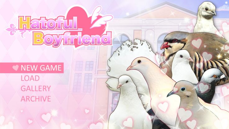 'Hatoful Boyfriend', A Dating Sim Video Game Set in a High School for Pigeons