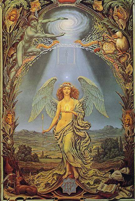 Those born under the influence of Virgo exhibit durability, utility, & beauty. Virgo is capable. Although the Virgin is a mighty brick house, she is also a mutable sign with a feminine polarity. Virgos are children of reality, even in its bleakest formats.