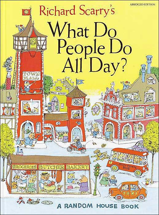 book: Worth Reading, Richard Scarry, Scarry Books, Childhood Memories, Kids Books, Books Worth, Pictures Books, Books Gifts, Children Books