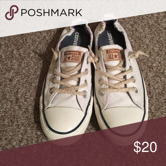 Cream Converse All Star. Low Profile. Cream Converse All Star. Low Profile. Converse Shoes Sneakers