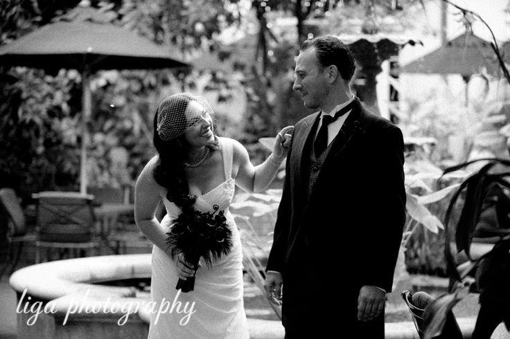 ligaphotography.com // Jennifer & Tony's Wedding #neworleans #neworleanswedding #destinationweddingneworleans #louisianawedding #southernwedding #ligaphotography #firstlook #weddingportrait #brideandgroom