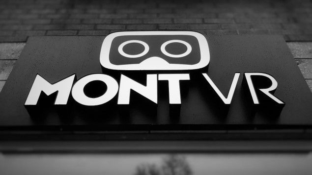 The logo of MontVR! You can see that sign in front of our center. See you in the real world!