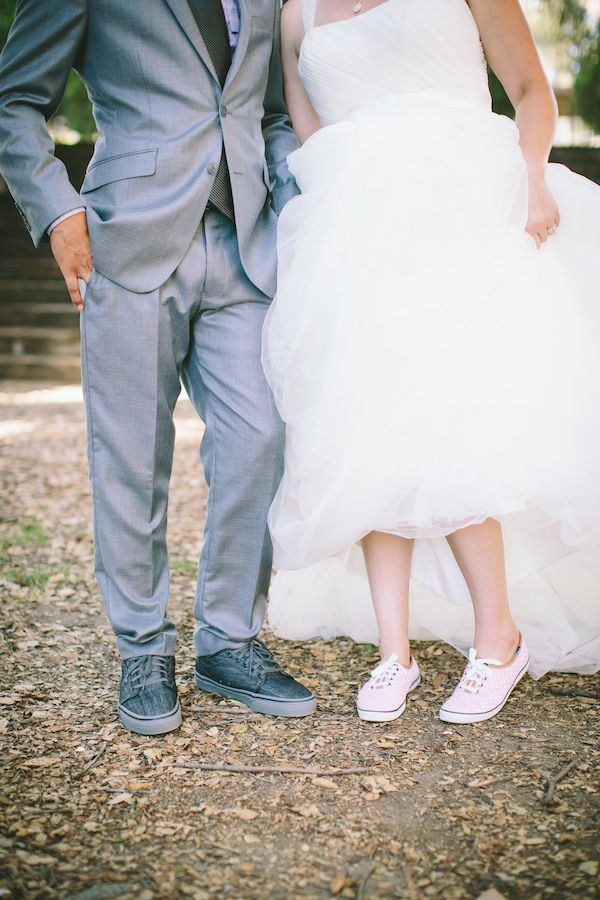 bride and groom looks http://www.weddingchicks.com/2013/10/14/lavender-wedding/