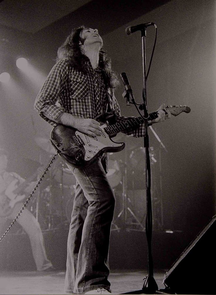 Pure passion in his music - Rory Gallagher - the Legend.