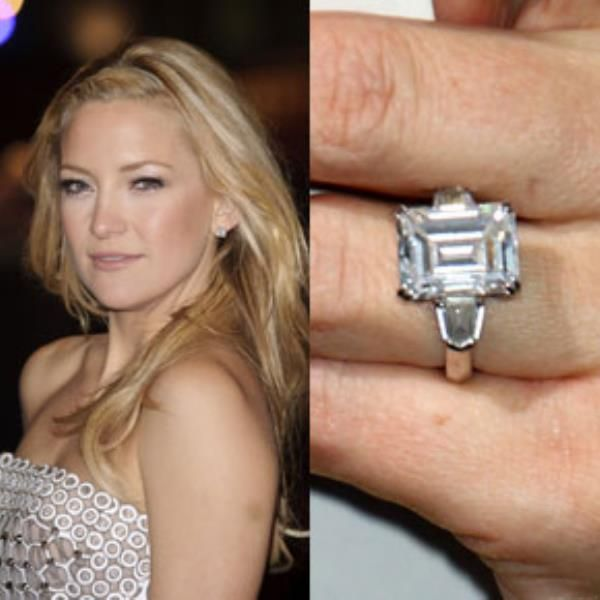 Celebrity Emerald Cut Engagement Rings