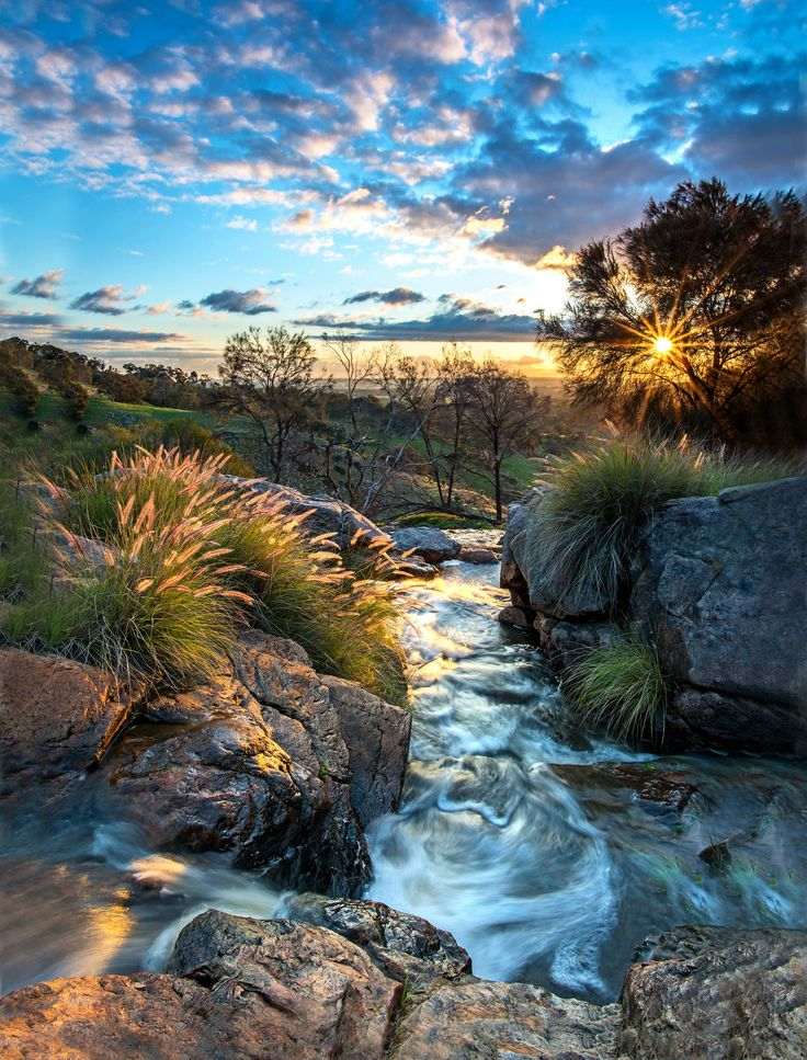 Sunset in the hills of Perth Western Australia (OC) (1522x2000)   landscape Nature Photos