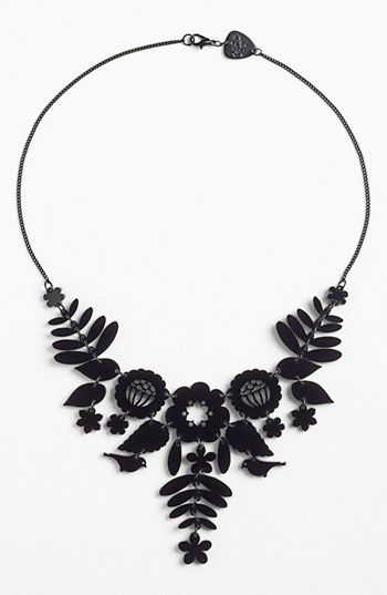 Tatty devine mexican embroidery statement necklace