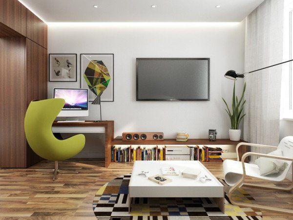Resultado de imagen para vivir en 40 metros cuadrados decoracion