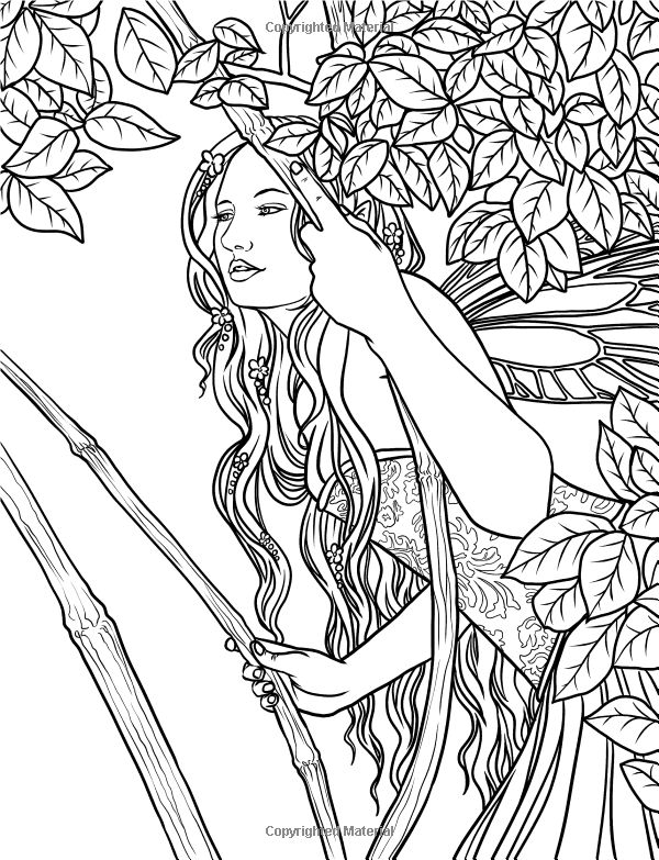 artist selina fenech fantasy coloring pages colouring adult fairy - Coloring Pages Dragons Fairies