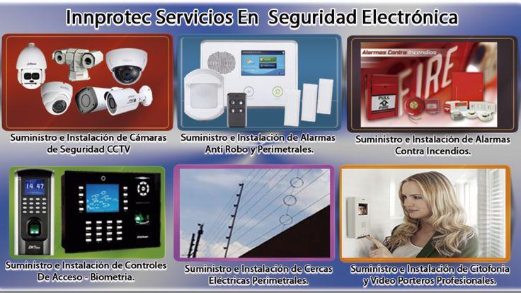 Servicios - Innprotec Ingeniería y Comercializadora