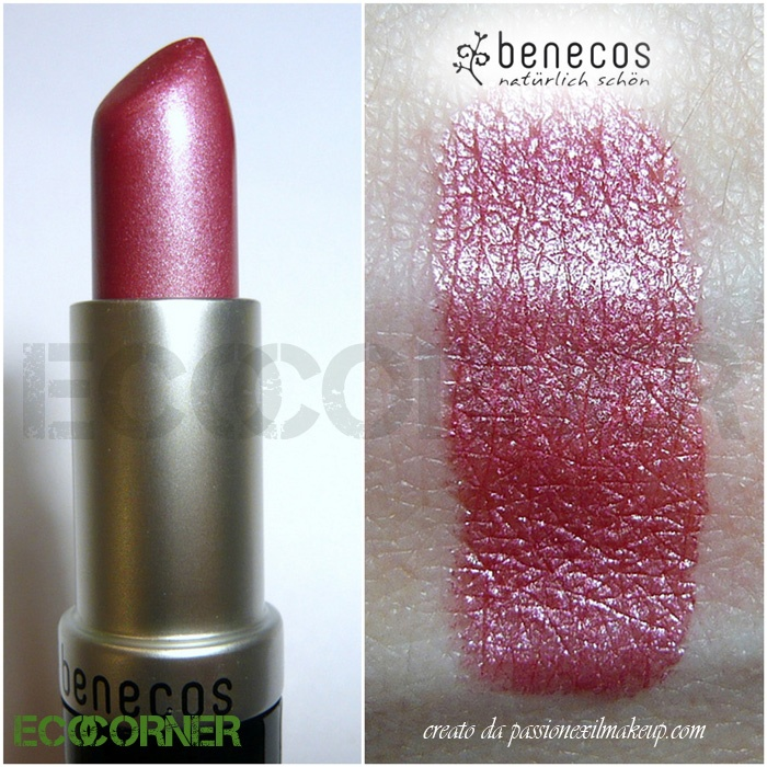 Rossetto color Hot Pink - Benecos