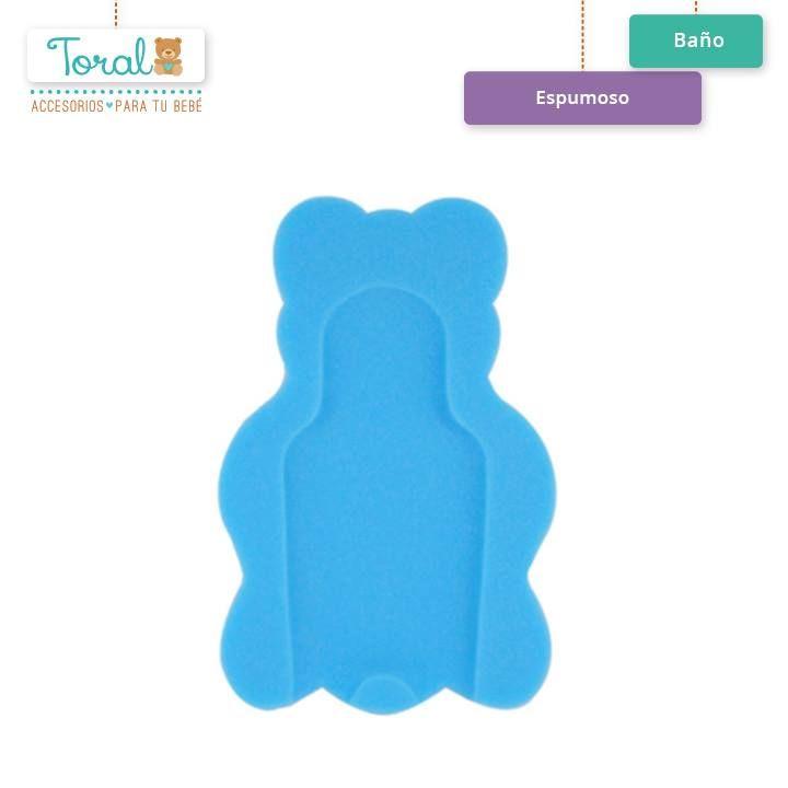 """Nuestra bañera """"Espumoso"""" le proporciona a tu bebé seguridad y confort en sus momentos de baño y permite a las mamás tener las manos libres para bañar al pequeño. TORAL ¡Le damos la bienvenida a la vida! Lo puedes conseguir en nuestra pagina web http://bebetoral.com/detalleitem.php?id_producto=9&id_categoria=2"""