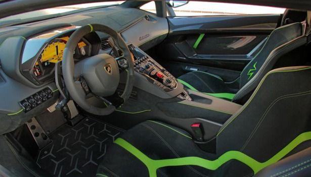 2017 Lamborghini Aventador - interior