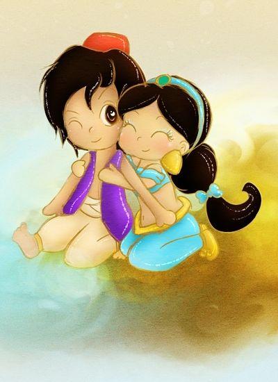 how to draw chibi princess jasmine