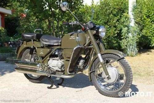 Moto Guzzi Nuovo Falcone Military SOLD (1975)